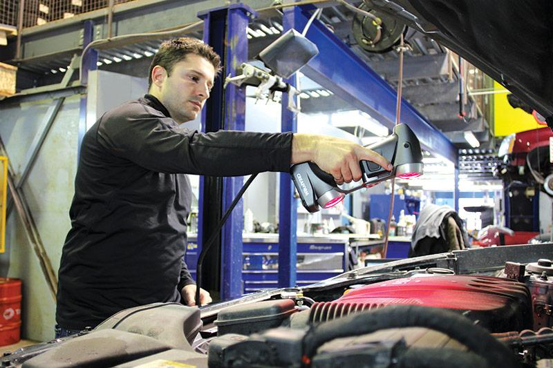 3D-сканеры в автомобилестроении: 4 преимущества и 4 успешных проекта