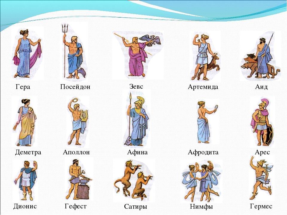 сожалению древнегреческие боги список с картинками баранины