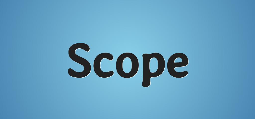 Перевод JavaScript область видимости простыми словами