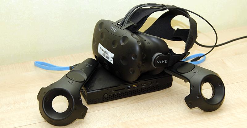 Intel NUC Hades Canyon с графикой AMD Vega — VR или не VR?