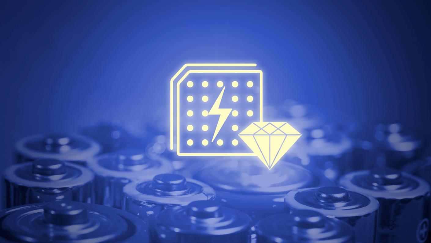 Новые японские батарейки из алмазов и углерода-14 переживут владельца, его внуков и правнуков