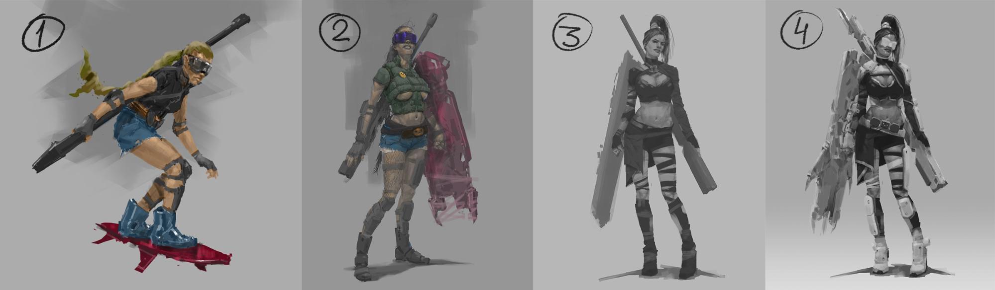 Рефлексия геймдизайнера: персонажи для игры, которая не вышла