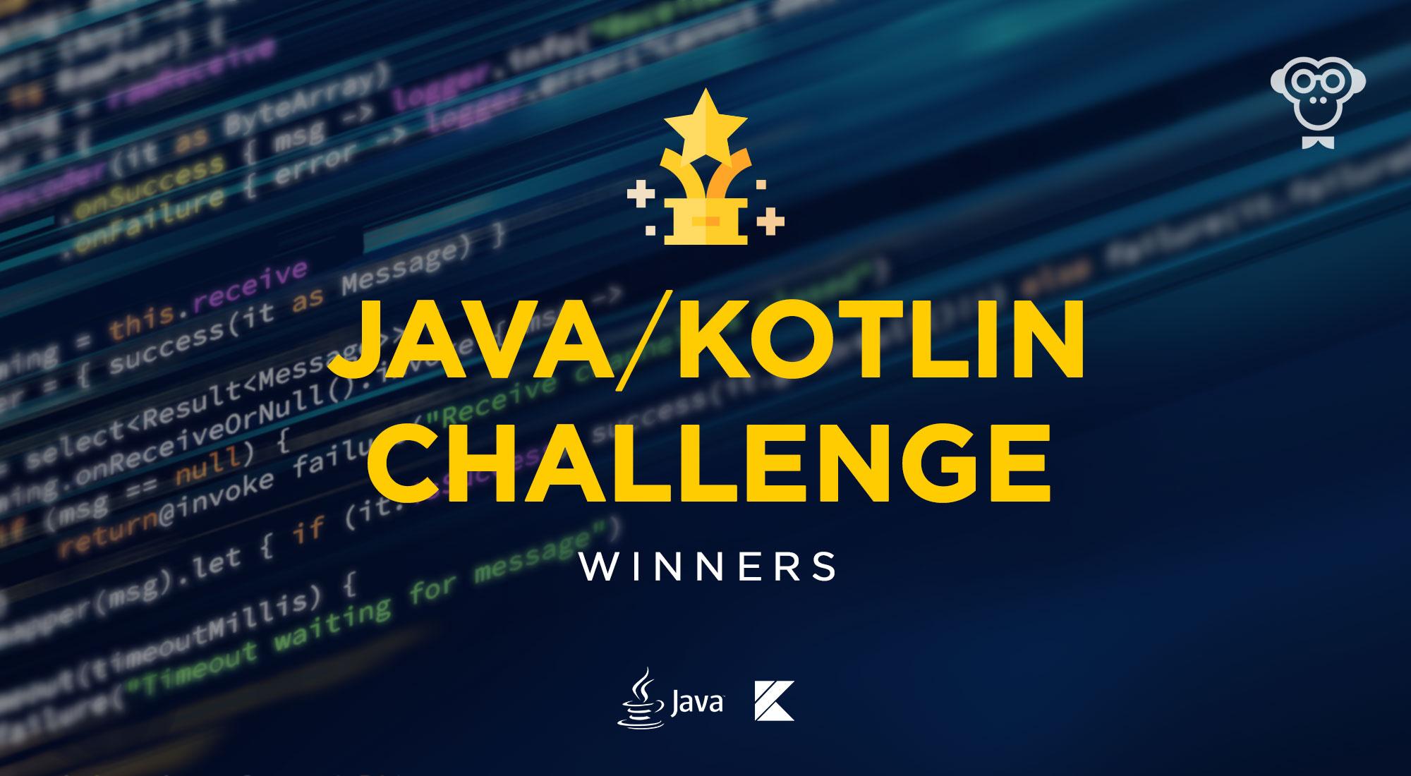FunCode Backend Java/Kotlin Challenge: объявляем имена победителей