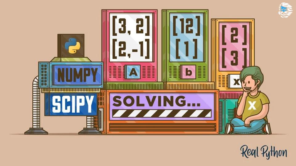 [Перевод] Решаем систему линейных алгебраических уравнений с Python-пакетом scipy.linalg (не путать с numpy.linalg)