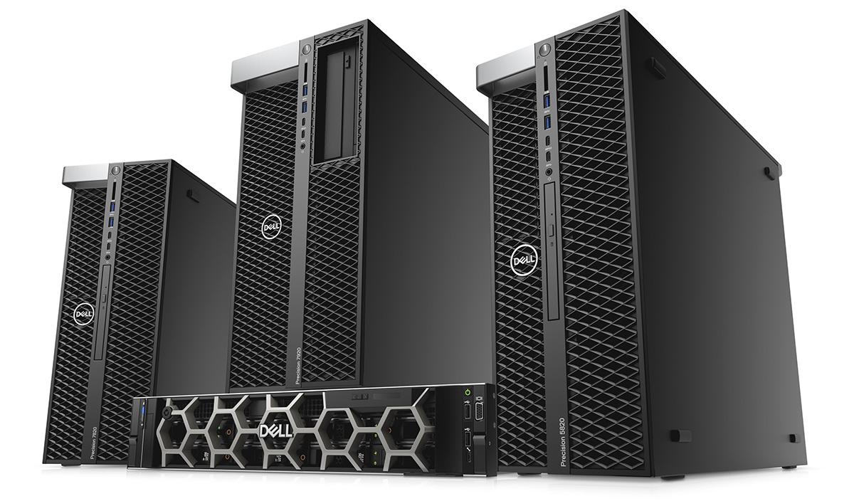 Рабочие станции Dell: для творческих задач и экстремальной производительности