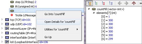 qtenv: sim results – open details for – …