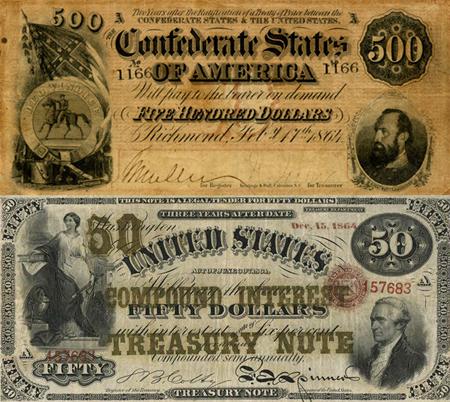 Перевод Финансирование Гражданской войны (США против КША)