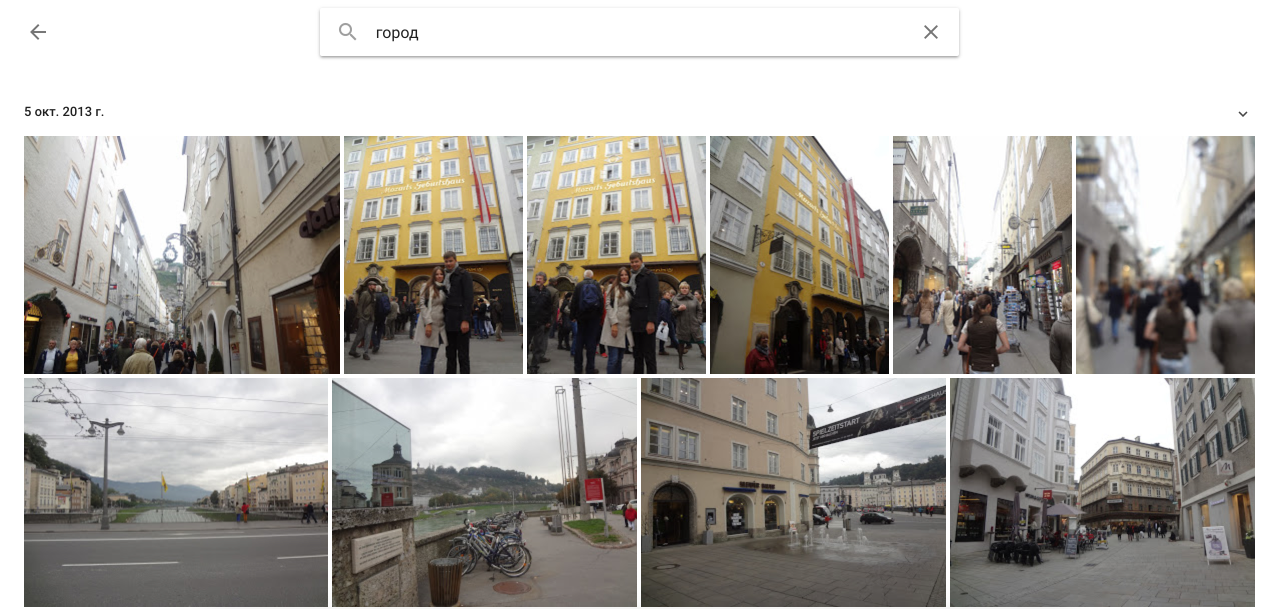 Recognition of scenes on images with the help of deep convolutional neural networks
