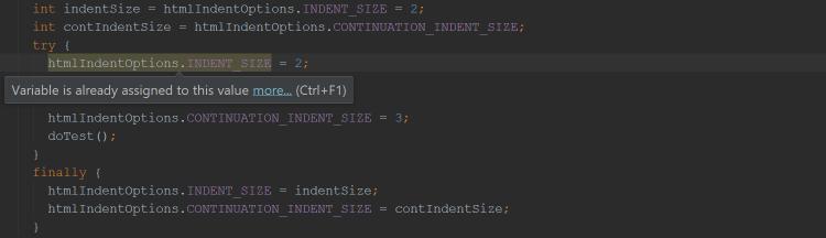 int indentSize = htmlIndentOptions.INDENT_SIZE = 2;
