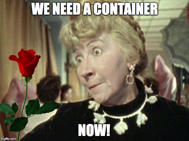 Containers of introducing dependencies and benefits from their use