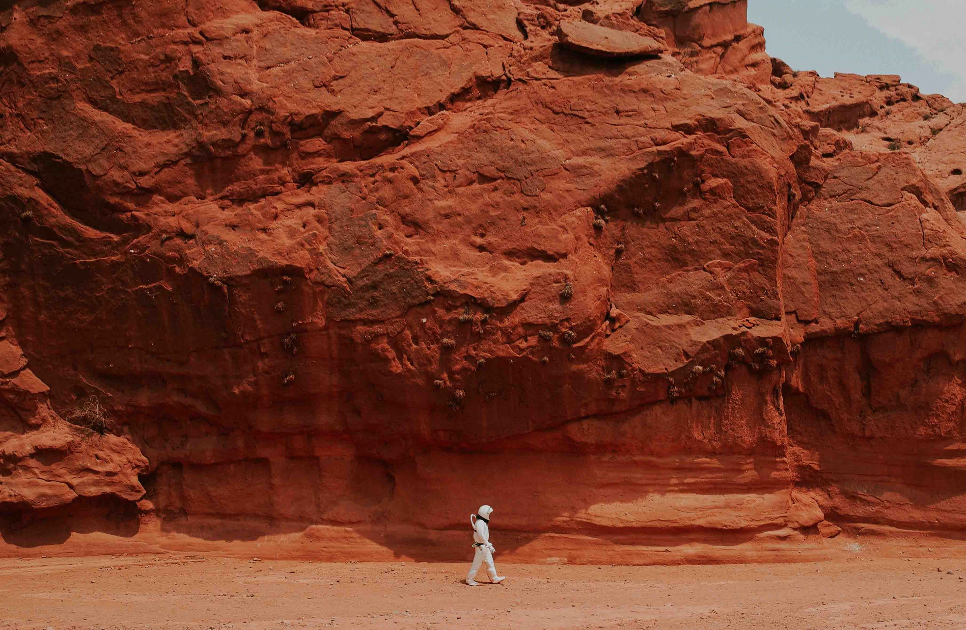 Марсианские хроники: первые снимки ночного неба и прогноз погоды из прошлого