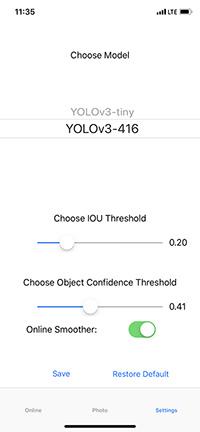 Распознавание объектов в режиме реального времени на iOS с