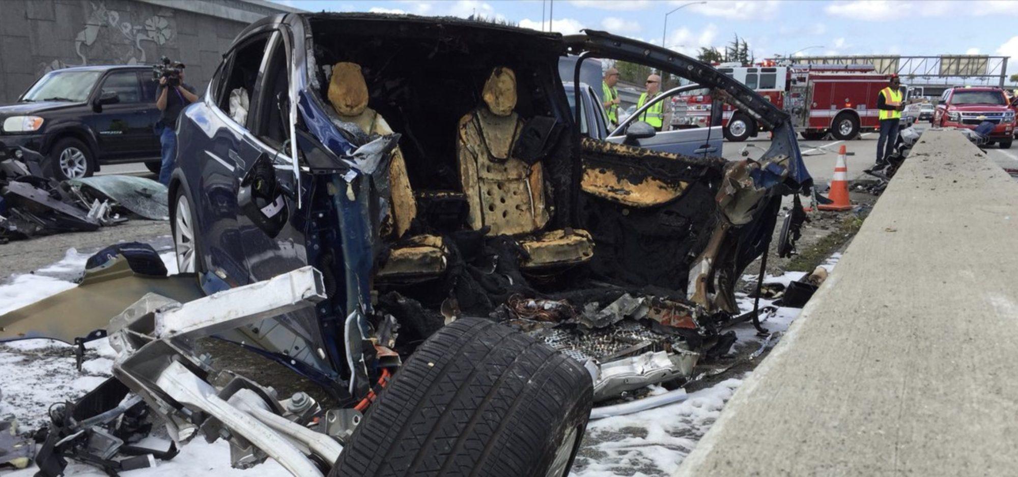 [recovery mode] Предварительный ответ Tesla на последнее ДТП, где погиб водитель