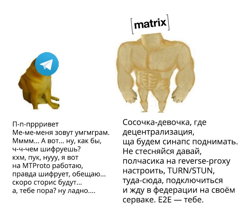Почему я использую Matrix вместо Telegram