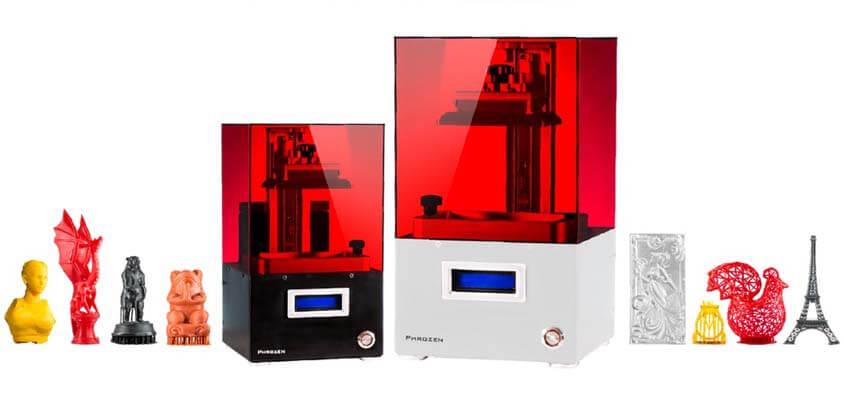 Недорогие и доступные фотополимерные 3D-принтеры