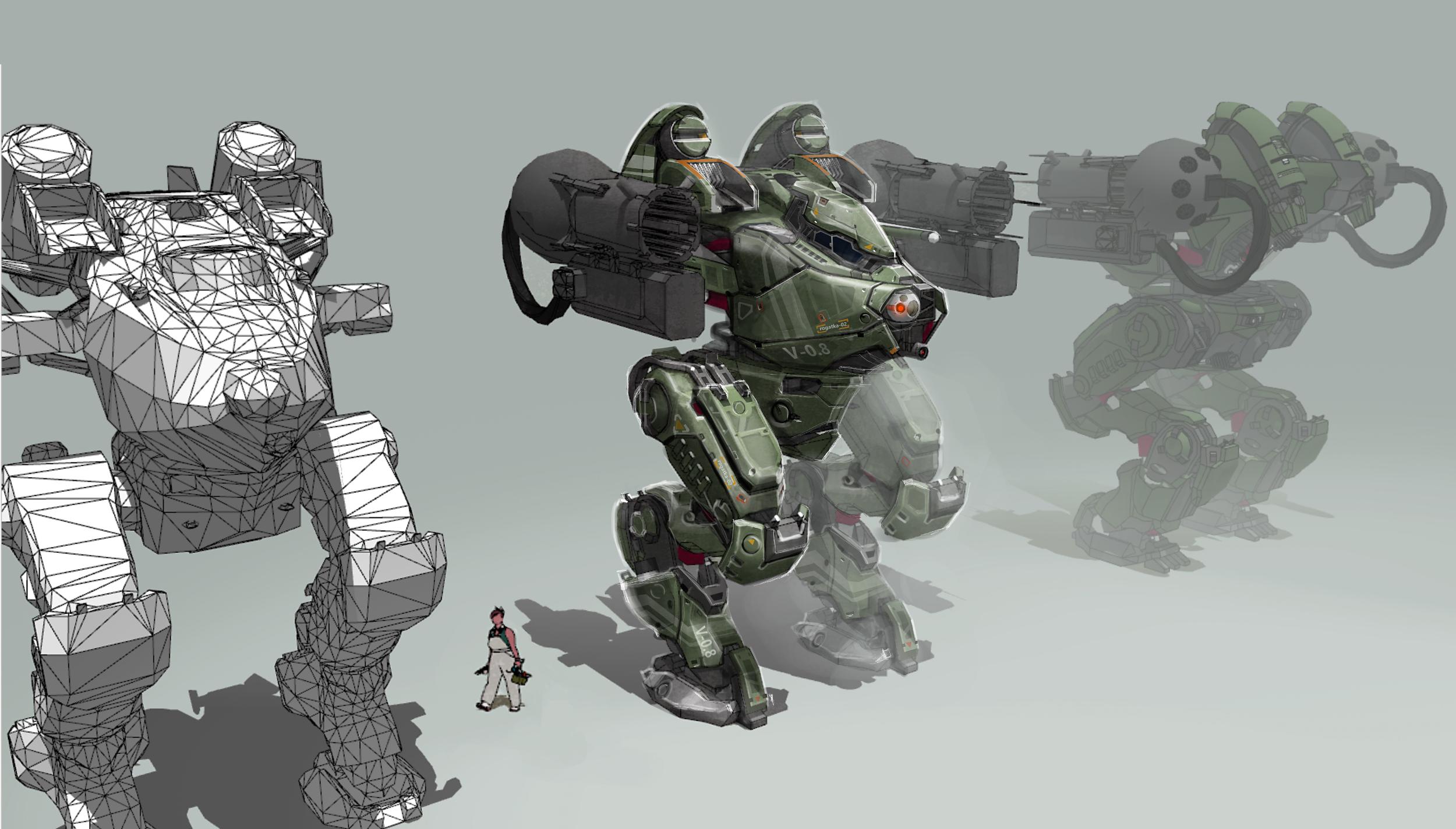 Почему мы не стали делать идеально: как менялась инфраструктура серверов War Robots