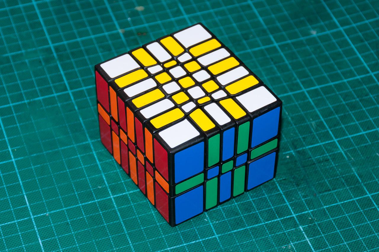3х5х7 Cuboid или пилим Кубик Рубика / Хабр