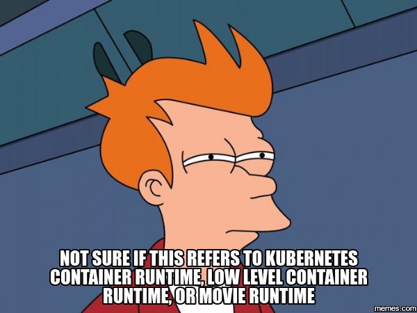 Среды запуска контейнеров (container runtimes) Часть 1: Введение в среды запуска контейнеров