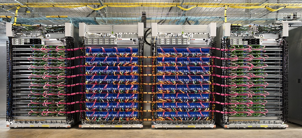 Google's free tensor processors in the Collaborative cloud