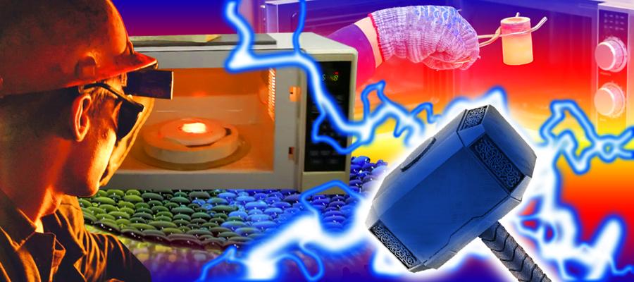 Плавка металлов за 9 минут в микроволновке и другие интересные штуки обзор ТОП7 самоделок  еще одна