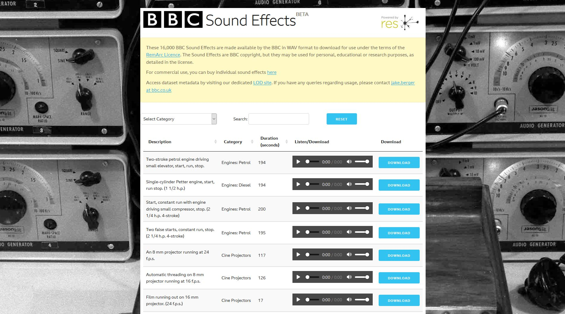 Memories sounded in a new way: BBC updated the sound archive of the project RemArc