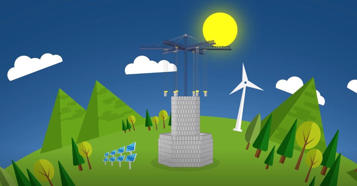 [Перевод] Могут ли эти 35-тонные блоки решить гигантскую проблему с возобновляемыми источниками энергии?