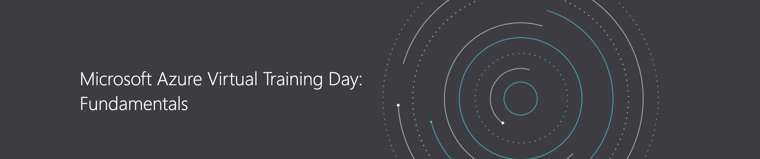 Microsoft Azure Virtual Training Days Fundamentals  вебинар с конкурсом на бесплатное прохождение сертификации