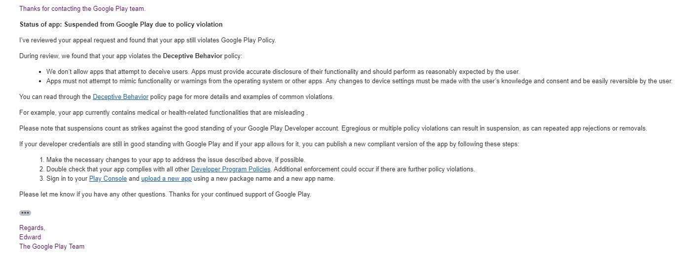 Восстание машин началось  Google Play / Хабр