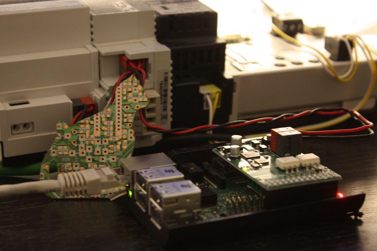 [Из песочницы] Bobaos — доступ к шине KNX TP/UART c Raspberry Pi