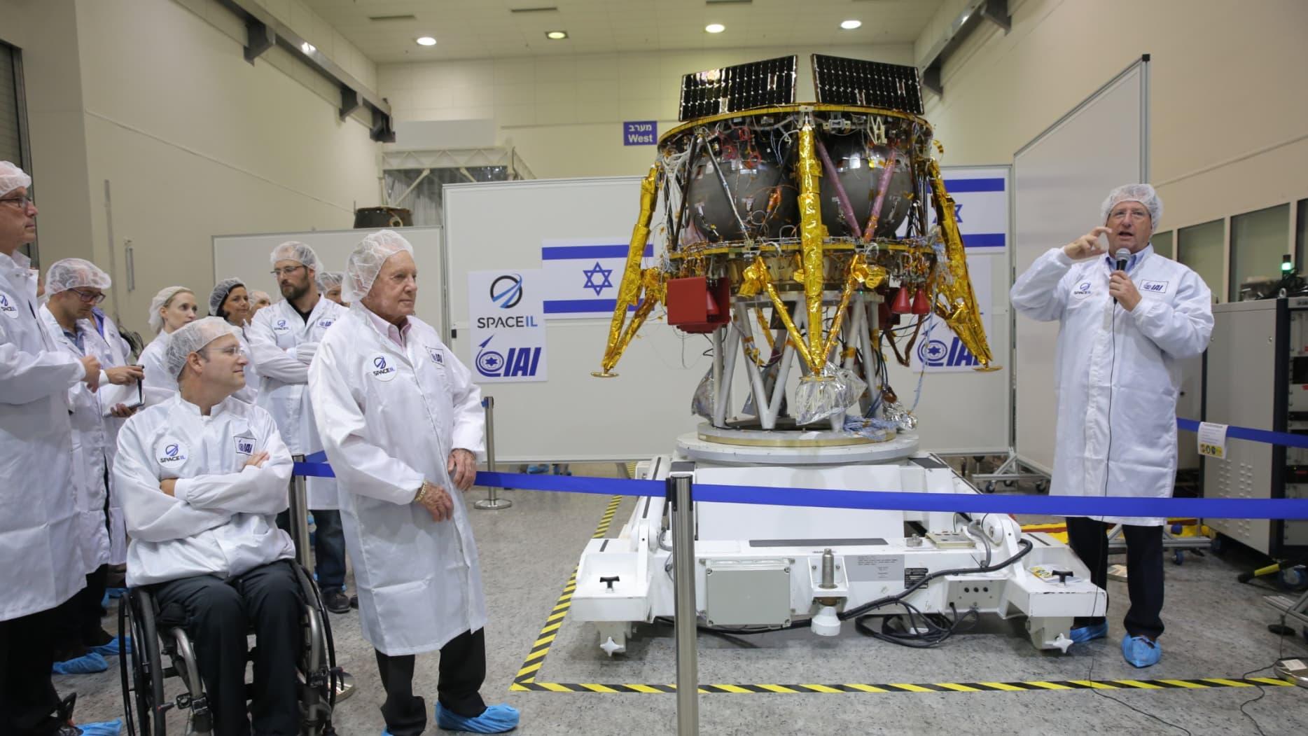 Объявлена предварительная дата запуска лунного модуля SpaceIL