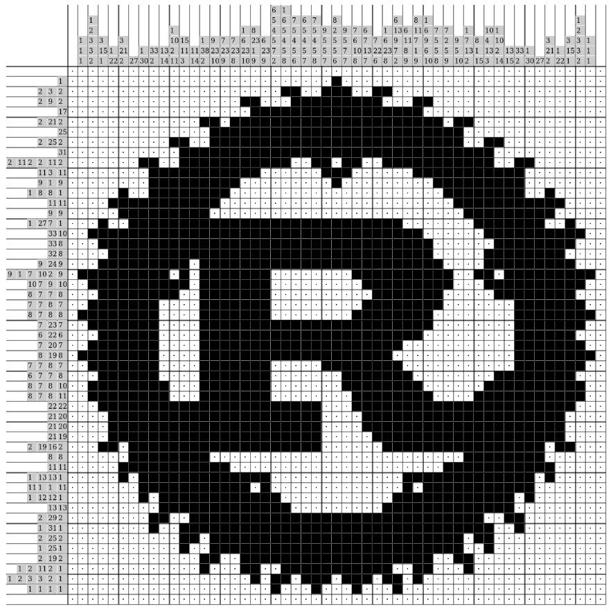 [Из песочницы] Решение японских кроссвордов c P̶y̶t̶h̶o̶̶n̶ Rust и WebAssembly