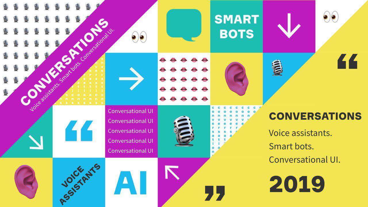 Конференция Conversations'19: разговорный AI для тех, кто еще сомневается и ...