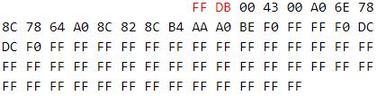FF DB