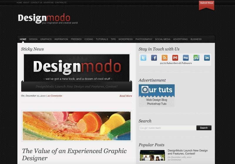 10 лет Designmodo взлеты, падения, уроки и вдохновение