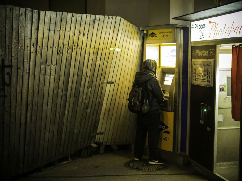 Low-level hacking of ATMs NCR