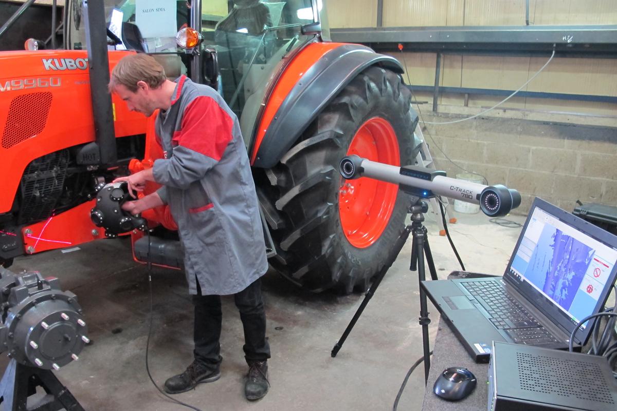Реверс-инжиниринг трактора: как ускорить процесс измерений в два раза