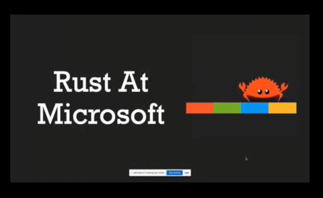 [Перевод] Microsoft: Rust является 'лучшим шансом' в отрасли программирования безопасных систем
