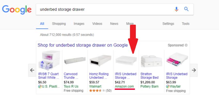 Amazon прекратит покупать рекламу у Google