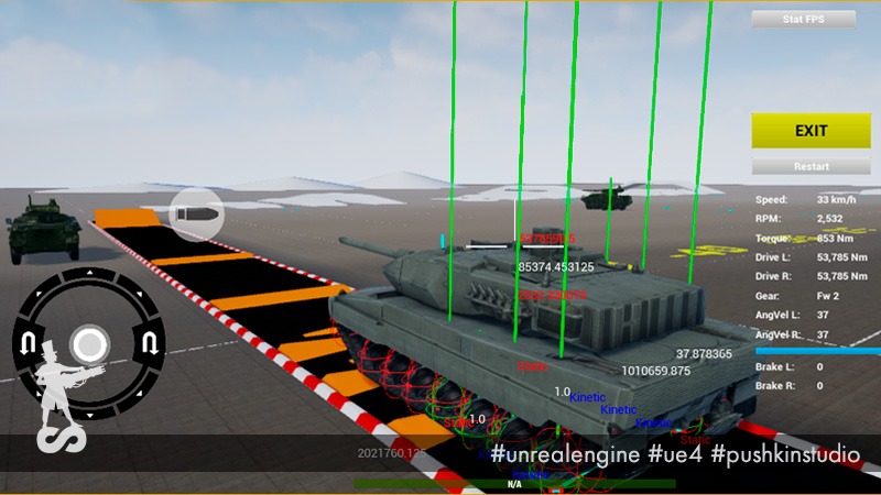 PsRealVehicle, or Open Source-plugin of physics of tanks in Armored Warfare: Assault