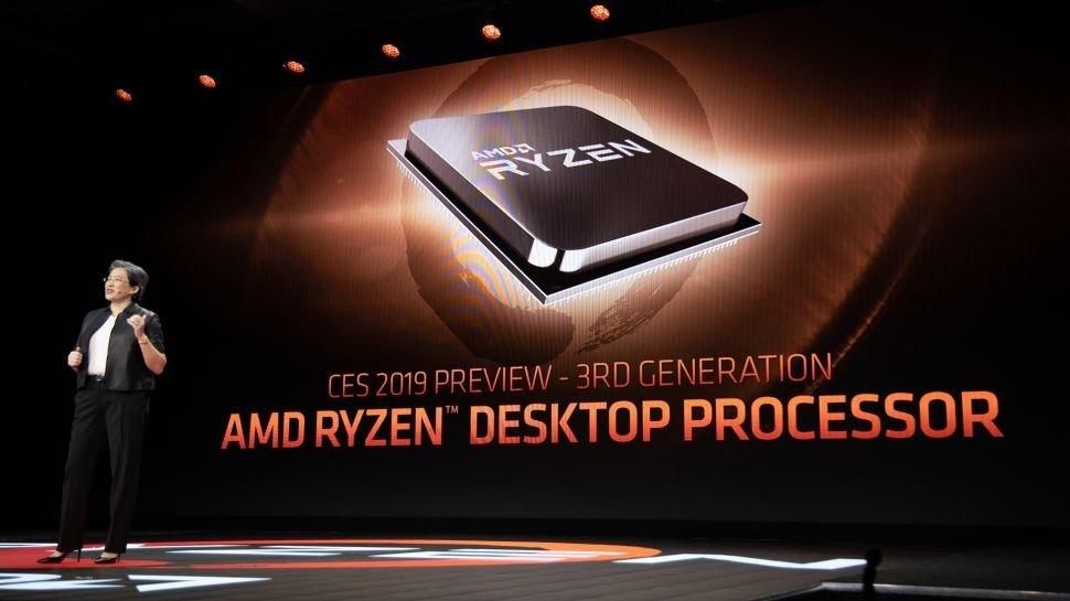 Компания AMD представила свои новые пользовательские 7 нм процессоры Ryzen третьего поколения