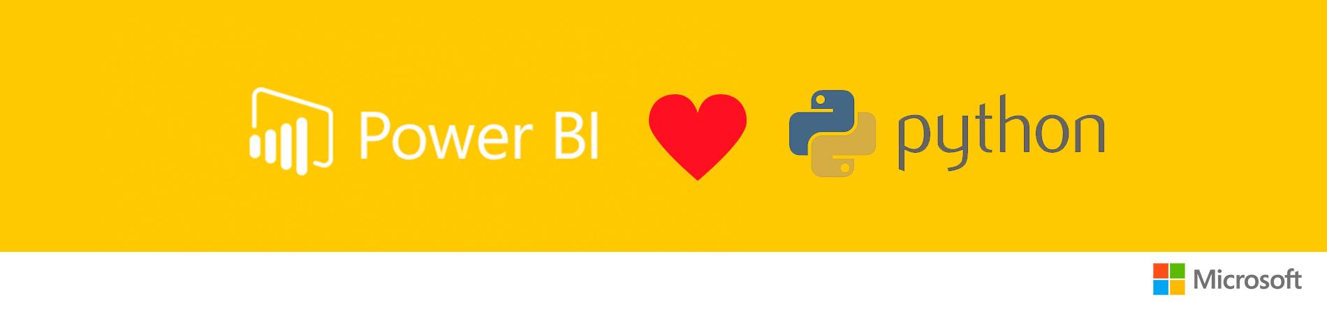 Поддержка Python в Power BI