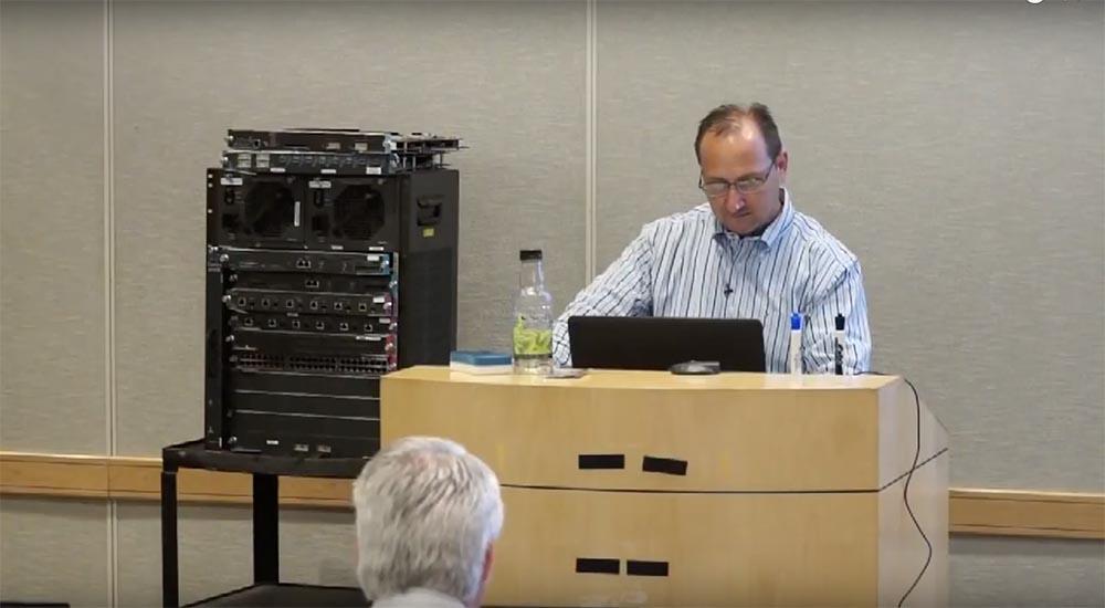 "Training FastTrack. ""Networking basics."" ""Equipment for data centers."" Eddie Martin. December, 2012"
