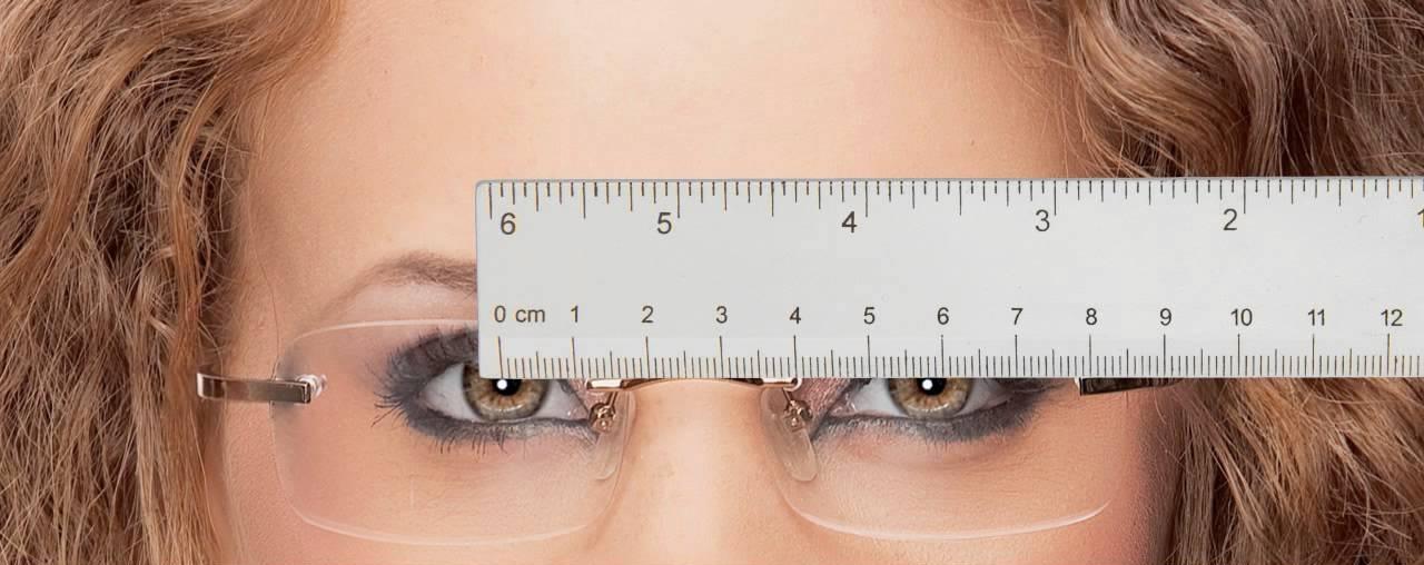 Межзрачковое расстояние в очках
