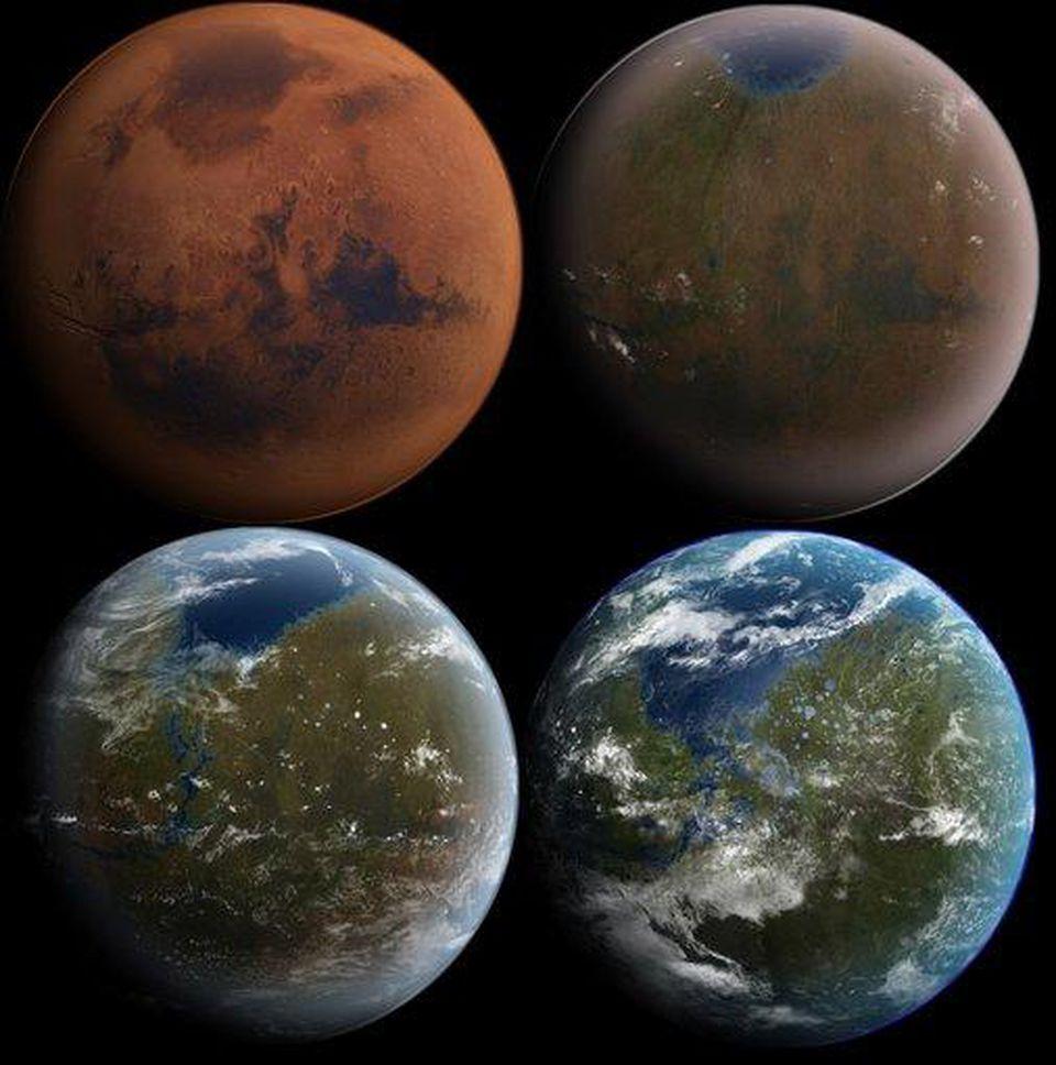 NASA knows how to make Mars green again