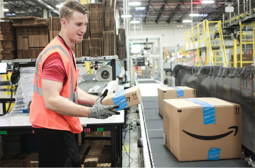 Amazon gave up and raised employee wages