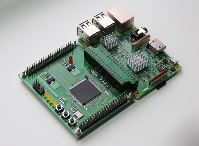 Сетевой JTAG программатор для Altera Quartus Prime из Raspberry Pi3