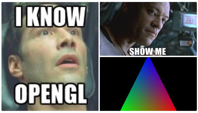 Суперсовременный OpenGL. Часть 1