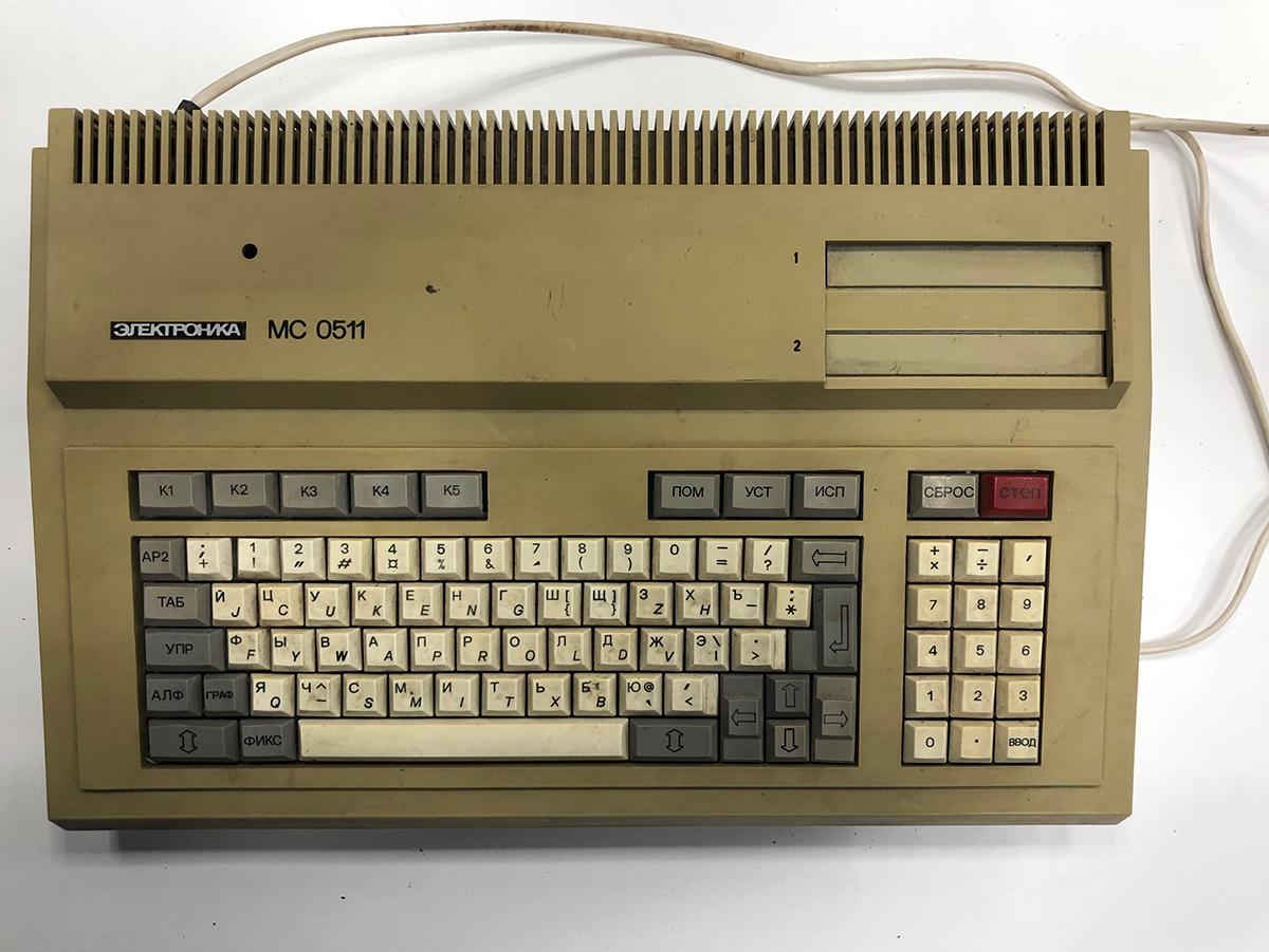 Музей DataArt. Распаковываем «Электронику МС 0511»