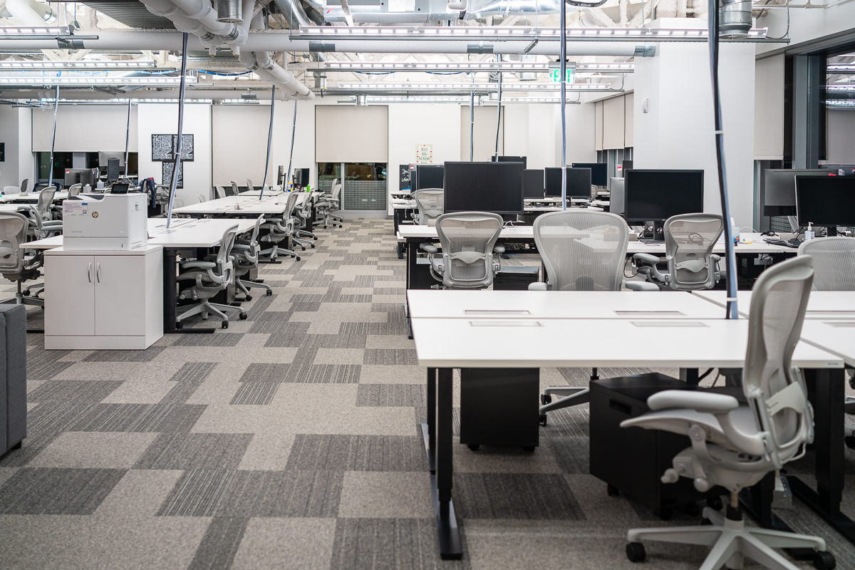 Photo tour of the new Facebook office in Boston