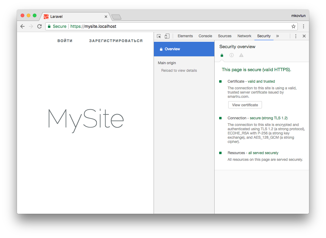 How to release a self-signed SSL certificate and get your browser to trust it with